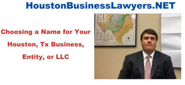 Check Llc Name Availability In Texas Houston Business Law