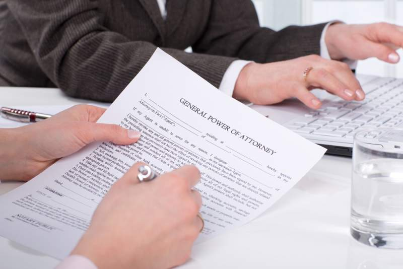 Texas Power Of Attorney
